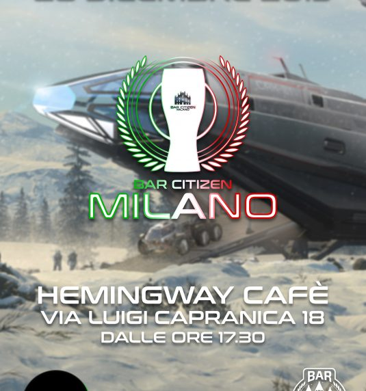 Milano Bar Citizen – SCI Holiday Greetings